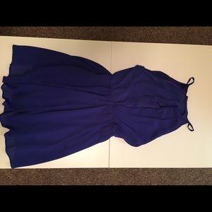 Lush cobalt blue dress